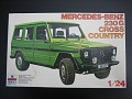 1979-91 MERCEDES-BENZ 230G CROSS COUNTRY