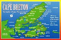 NOVA SCOTIA - Cape Breton Map