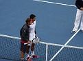 Roger and Novak men semi-final