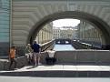Karl M., Karl W., Toon & Frank auf Kanalbrücke