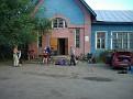 Startvorbereitung am Sportheim Vologda