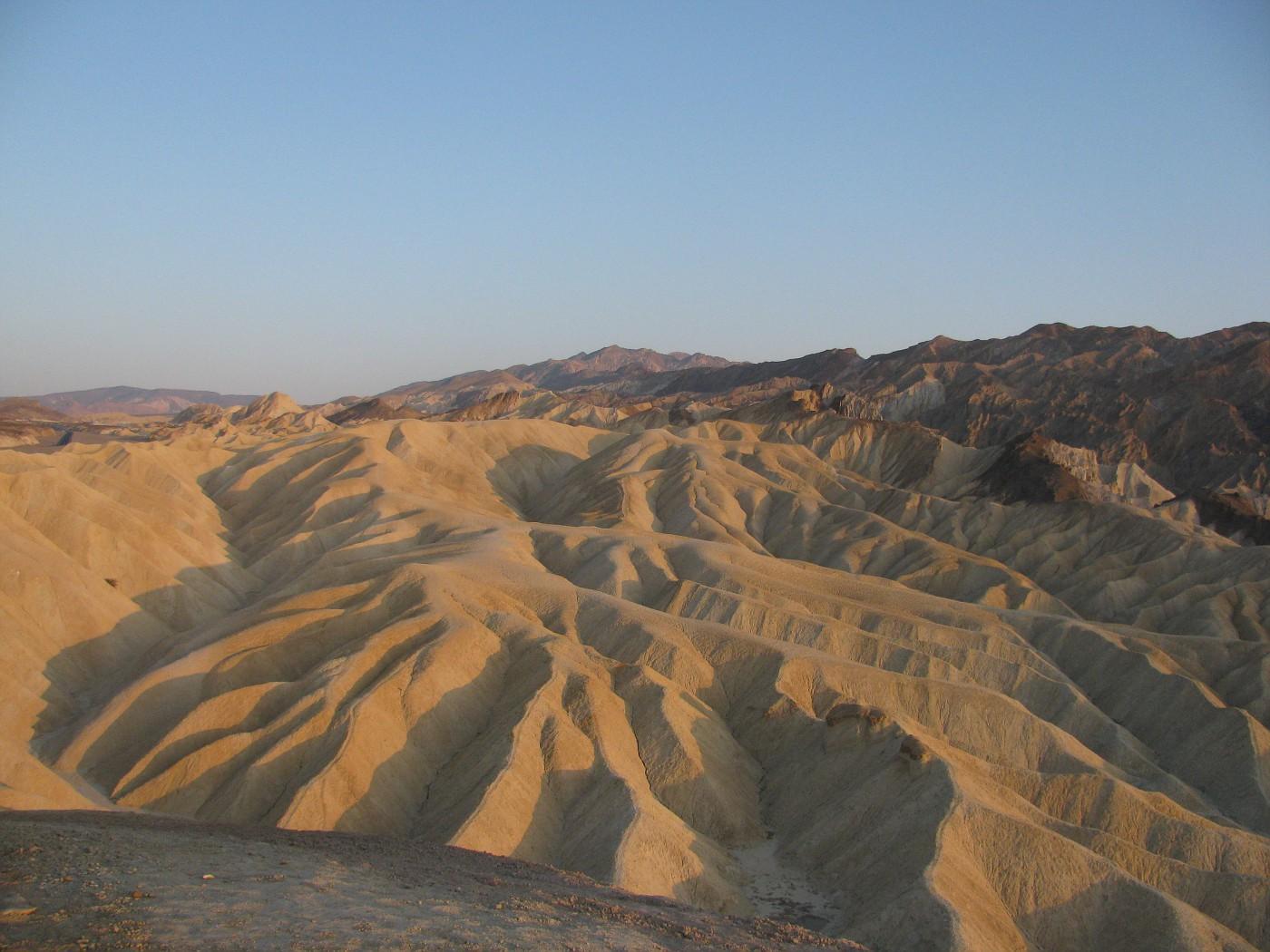 Zabriksie dunes at sunset
