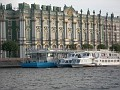 Saint Petersburg - Hermitage from the boat