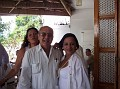 Directeur de l'Office du Tourisme Daniel Fouchard, Rachel Moscoso Denis and Babeth Vieux .