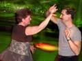 Terri starts the dance