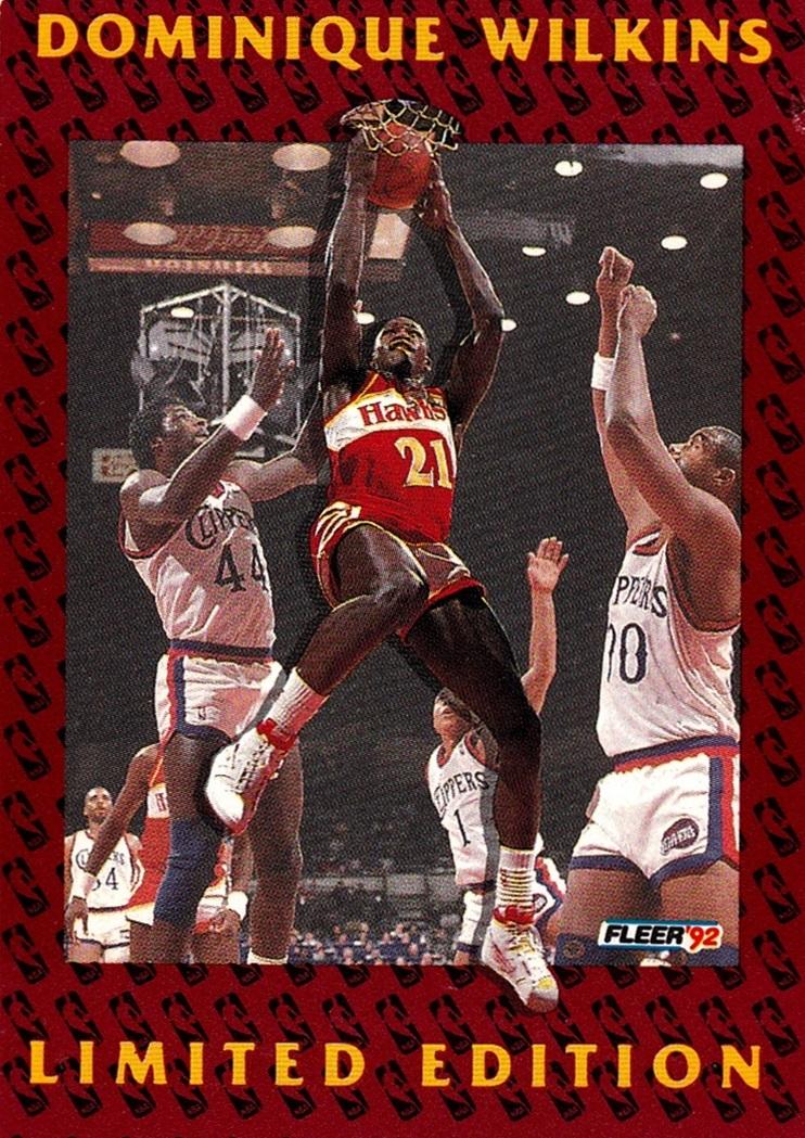 1991-92 Fleer Dominique Wilkins #11 (1)