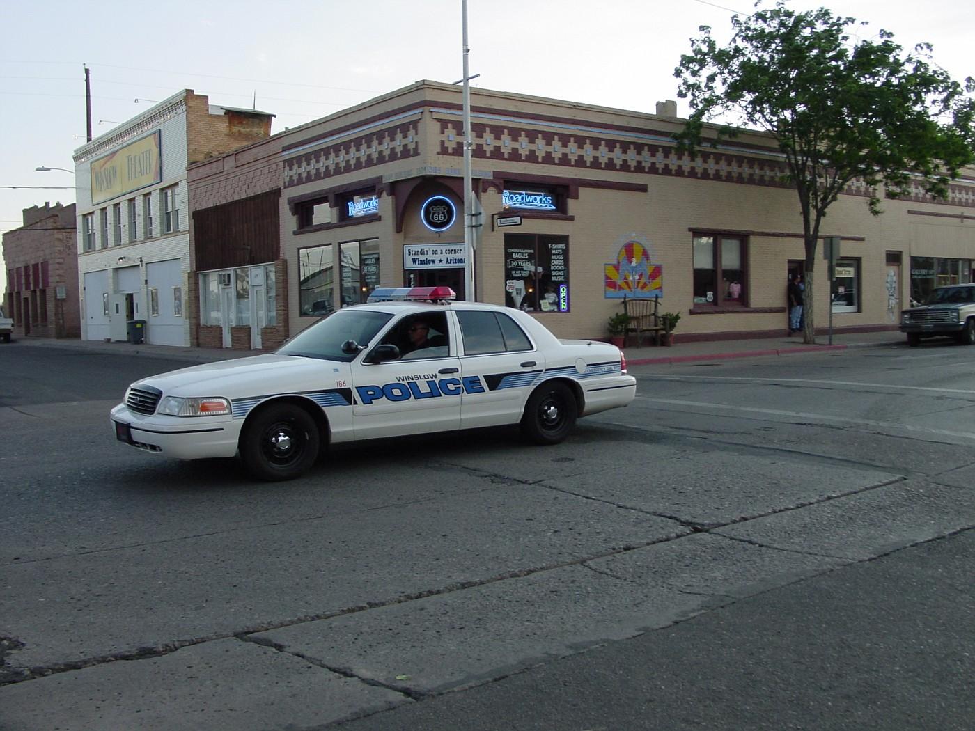 Az winslow police
