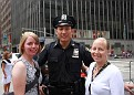 Christine & Patty With One Of NY's Finest