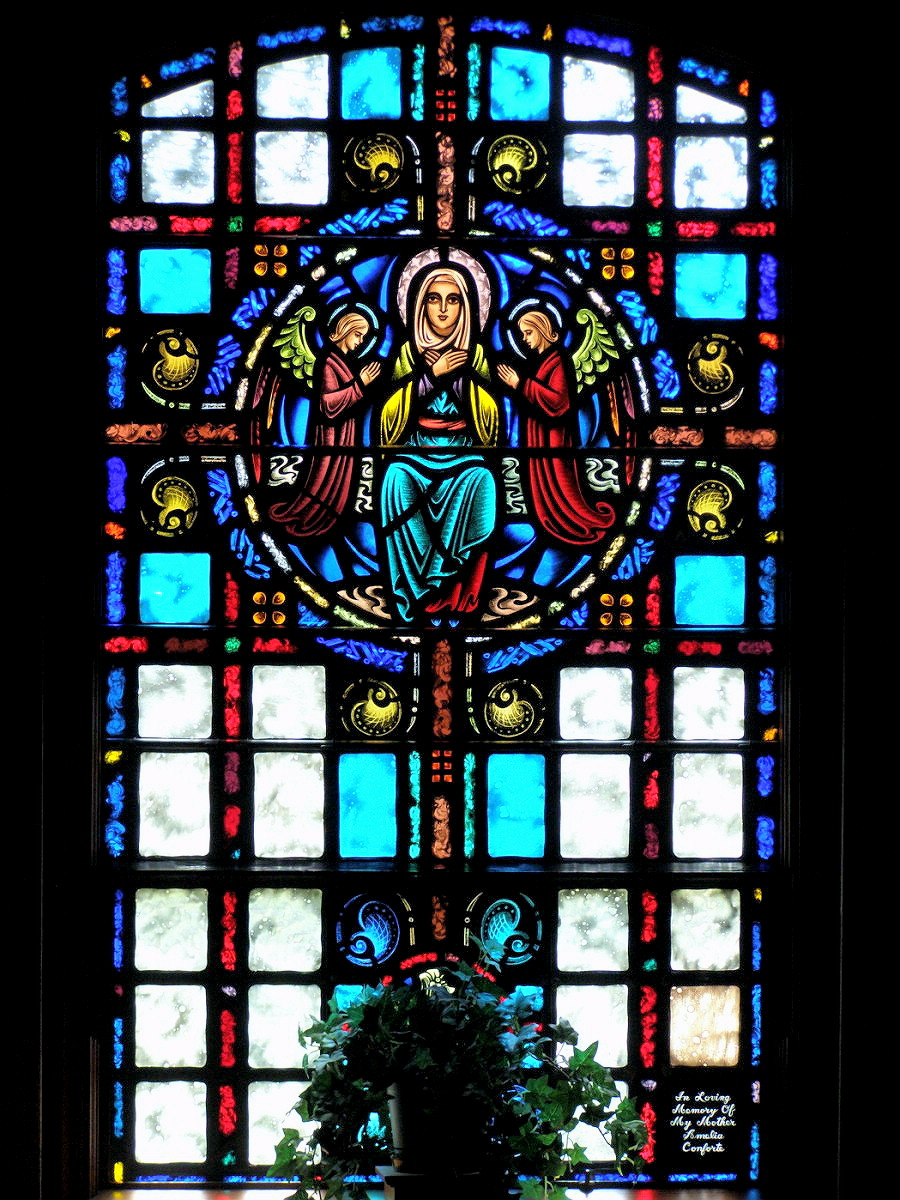MILFORD - SAINT MARY CHURCH - STAINED GLASS - 03.jpg