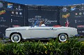 1957 Mercedes-Benz 220S Cabriolet owned by Leonard and Gretchen Busse award