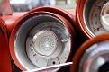 25 1963 Chrysler Ghia Turbine Car turbine inlet temperature gauge detail