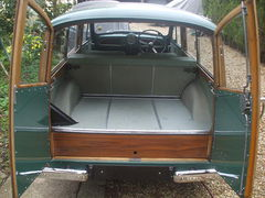 1961 Morris Minor Traveller Almond Green mark Duff 003