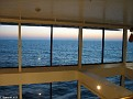 Atrium View, Deck 7, in the evening light