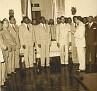 Discours du Général Antoine Levelt lors de son installation comme chef d'Etat Major des F.A.D.H. 7 Décembre 1950.