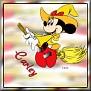 Minnie as witchTCarley