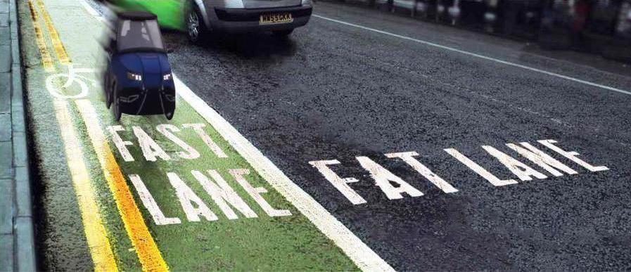 fast Lane fat Lane PodRide