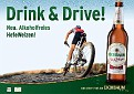 Drink and drive!