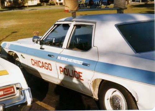 Blues Brothers movie 1977 Dodge CPD car