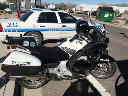 AZ- Scottsdale Police 2012 Honda