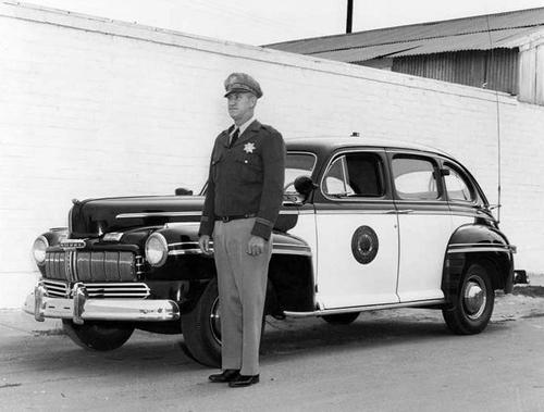 CA- CHP 1946 Mercury