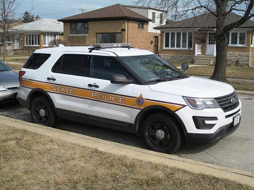 IL- Illinois State Police 2016 Ford Explorer