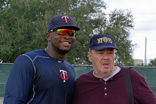 IMGP9463 - Again Miguel Sano with a fan