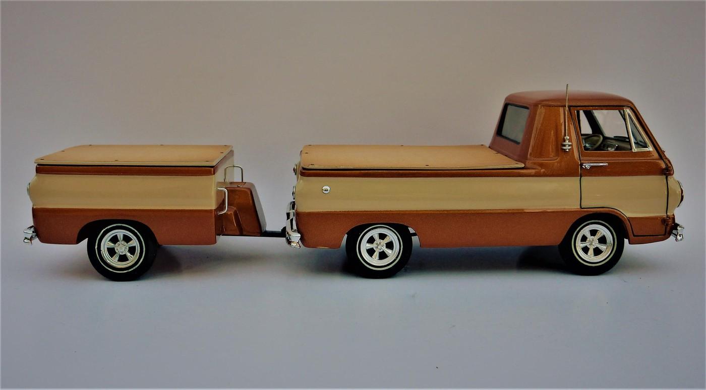 Dodge A 100 pickup avec remorque terminé Photo4-vi