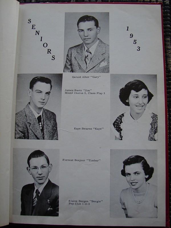 FayetteIaHighSchool1953Annual027