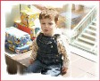 Matthew has a birthday party - he's turning 2
