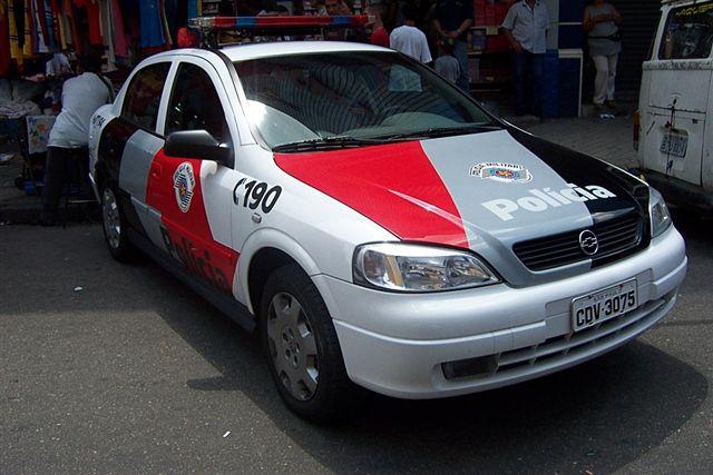 Brazil - Viatura da Polícia Militar Astra 1