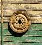 Hose reel wheel
