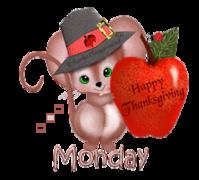 DOTW Monday - ThanksgivingMouse