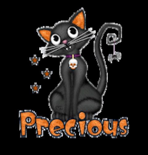 Precious - HalloweenKittySitting