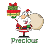 Precious - SantaDeliveringGifts