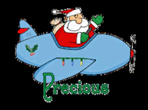 Precious - SantaPlane