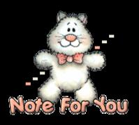 Note For You - HuggingKitten NL16
