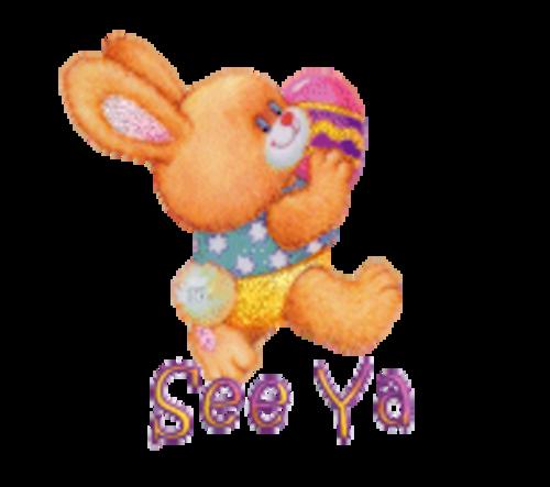 See Ya - EasterBunnyWithEgg16