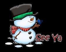 See Ya - Snowman&Bird