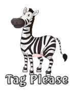 Tag Please - DancingZebra