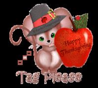 Tag Please - ThanksgivingMouse