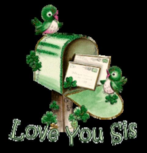 Love You Sis - StPatrickMailbox16
