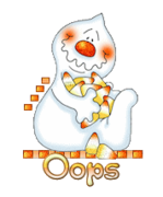 Oops - CandyCornGhost