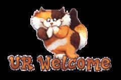 UR Welcome - GigglingKitten