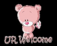 UR Welcome - ShyTeddy