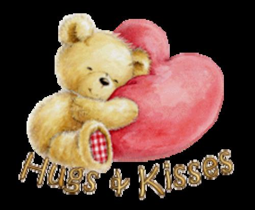 Hugs & Kisses - ValentineBear2016