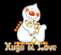 Hugs & Love - CandyCornGhost