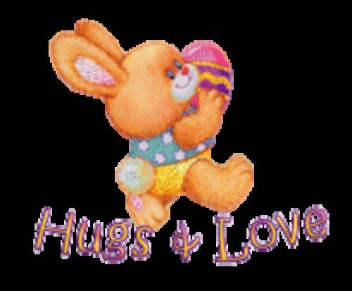 Hugs & Love - EasterBunnyWithEgg16