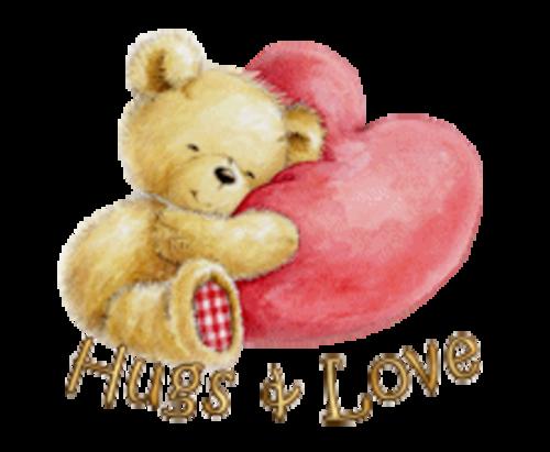 Hugs & Love - ValentineBear2016