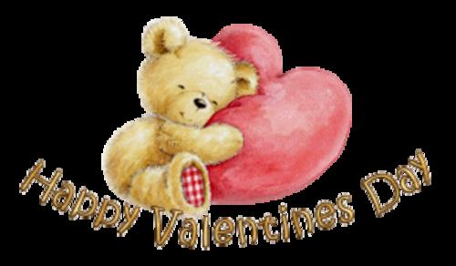 Happy Valentines Day - ValentineBear2016