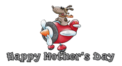 Happy Mother's Day - DogFlyingPlane